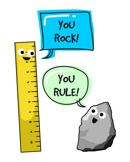 congratulations card you rock you rule