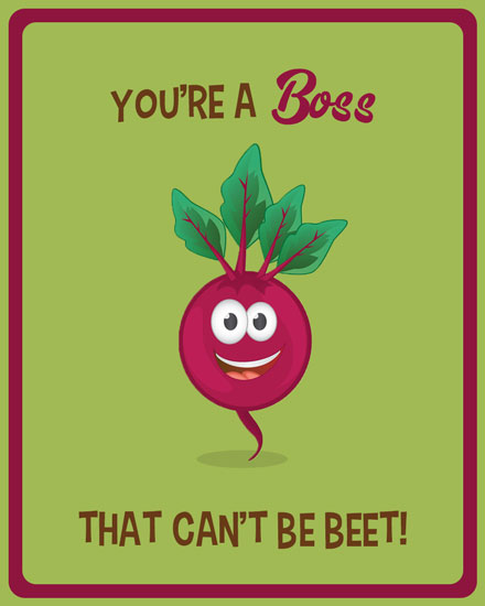boss day card boss that can't be beet
